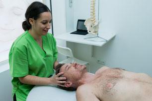 fisioterapia latigazo cervical vallecas