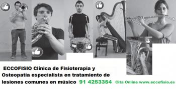 fisioterapia instrumentistas madrid