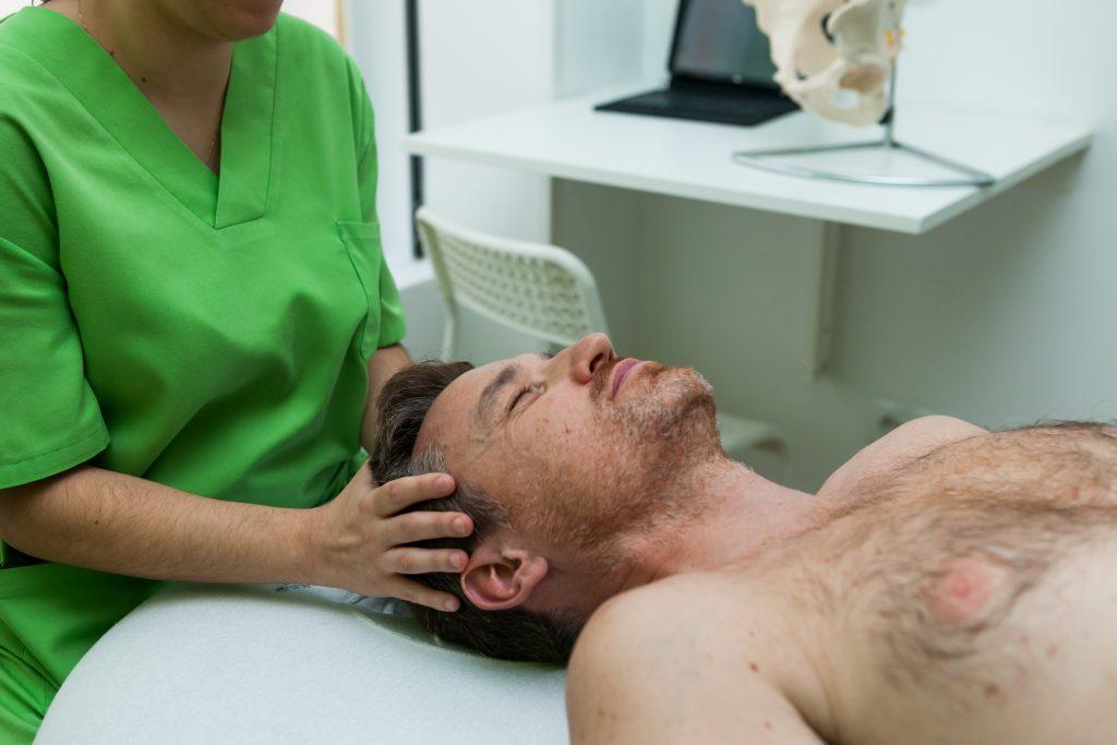osteopatia para el estres