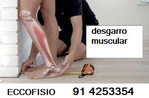 tratamiento desgarro muscular